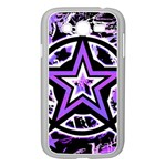 Purple Star Samsung Galaxy Grand DUOS I9082 Case (White)