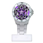 Purple Star Plastic Nurses Watch