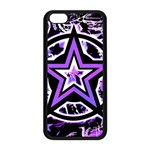 Purple Star iPhone 5C Seamless Case (Black)