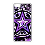 Purple Star iPhone 5C Seamless Case (White)