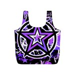 Purple Star Full Print Recycle Bag (S)
