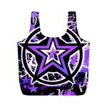 Purple Star Full Print Recycle Bag (M)