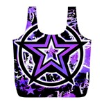 Purple Star Full Print Recycle Bag (L)