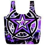 Purple Star Full Print Recycle Bag (XL)