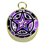 Purple Star Gold Compass