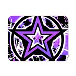 Purple Star Double Sided Flano Blanket (Mini)