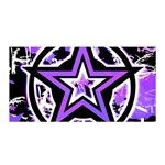 Purple Star Satin Wrap