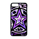 Purple Star iPhone 7 Plus Seamless Case (Black)