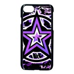 Purple Star iPhone 7 Seamless Case (Black)