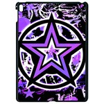 Purple Star Apple iPad Pro 9.7   Black Seamless Case