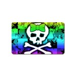 Rainbow Skull Magnet (Name Card)