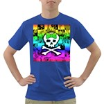 Rainbow Skull Dark T-Shirt