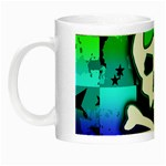 Rainbow Skull Night Luminous Mug