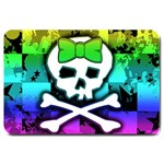 Rainbow Skull Large Doormat