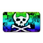Rainbow Skull Medium Bar Mat