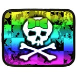 Rainbow Skull Netbook Case (Large)