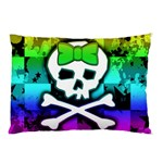 Rainbow Skull Pillow Case