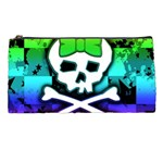 Rainbow Skull Pencil Case