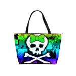 Rainbow Skull Classic Shoulder Handbag