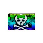 Rainbow Skull Cosmetic Bag (Small)