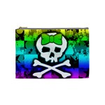 Rainbow Skull Cosmetic Bag (Medium)