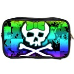 Rainbow Skull Toiletries Bag (Two Sides)