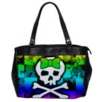 Rainbow Skull Oversize Office Handbag