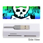 Rainbow Skull Memory Card Reader (Stick)