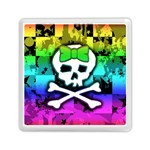 Rainbow Skull Memory Card Reader (Square)