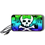 Rainbow Skull Portable Speaker (Black)