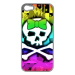 Rainbow Skull iPhone 5 Case (Silver)