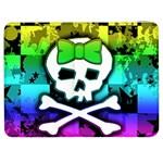 Rainbow Skull Samsung Galaxy Tab 7  P1000 Flip Case