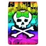 Rainbow Skull Removable Flap Cover (L)