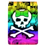 Rainbow Skull Removable Flap Cover (S)