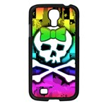 Rainbow Skull Samsung Galaxy S4 I9500/ I9505 Case (Black)