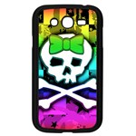 Rainbow Skull Samsung Galaxy Grand DUOS I9082 Case (Black)