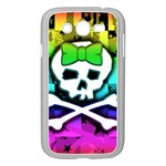 Rainbow Skull Samsung Galaxy Grand DUOS I9082 Case (White)