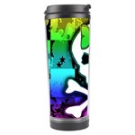 Rainbow Skull Travel Tumbler