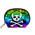 Rainbow Skull Accessory Pouch (Small)
