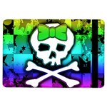 Rainbow Skull Apple iPad Air Flip Case