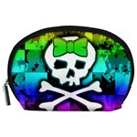 Rainbow Skull Accessory Pouch (Large)