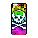 Rainbow Skull iPhone 6/6S Black Enamel Case