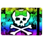 Rainbow Skull Apple iPad Air 2 Flip Case