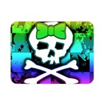Rainbow Skull Double Sided Flano Blanket (Mini)