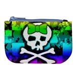 Rainbow Skull Large Coin Purse