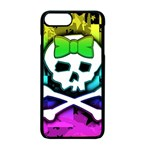 Rainbow Skull iPhone 7 Plus Seamless Case (Black)