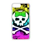Rainbow Skull iPhone 7 Plus Seamless Case (White)