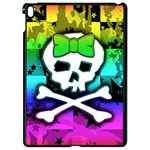 Rainbow Skull Apple iPad Pro 9.7   Black Seamless Case