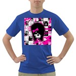 Scene Kid Girl Skull Dark T-Shirt