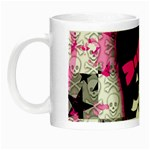 Scene Kid Girl Skull Night Luminous Mug